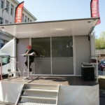 car podium la tribune